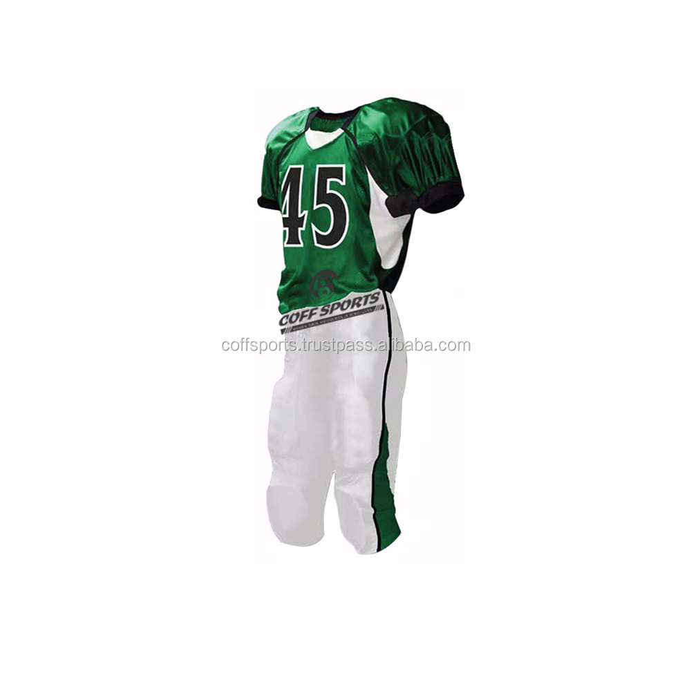 100% Polyester American Football Uniform