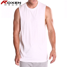 custom made fitness tank tops mens sports gym clothings white tops