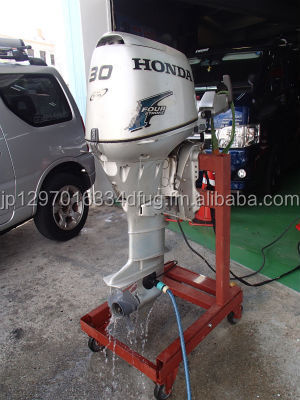 Free Shipping For Used Honda 30 HP 4 Stroke Outboard Motor Engine