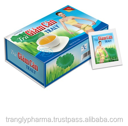 TRALY WEIGHT LOSS TEA---Help lower blood cholesterol and anti-obesity.