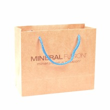 straight from company recycled shopping paper bags with custom logo print emboss deboss uv print