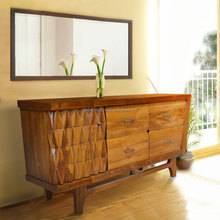 Buffet Modern Arizona Natural Color Teak Wood Furniture