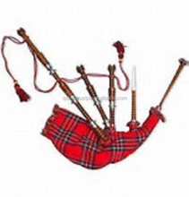 New Scottish Great Highland Bagpipe Sheesham Wood Natural Silver Mounts/Bagpipes /2017 best selling bagpipe