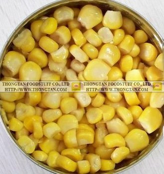Viet Nam canned Sweet Corn high quality, good price