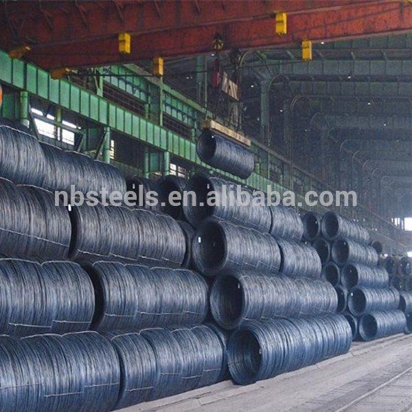 Prime 12mm steel wire rod nail making , ms wire rod SAE1006