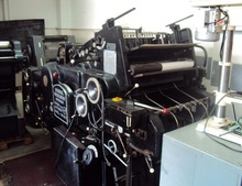 Used Single Color Offset Printing Machine Heidelberg Kord 62 for Sale