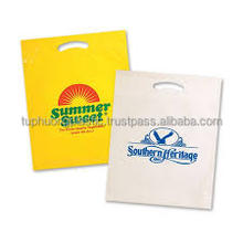 ISO certificate Plastic die-cut bag/Plastic bag 100% Virgin/ recycled or mix