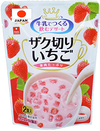 Easy to eat and safe Popular Fruits dessert in Natural made in Japan