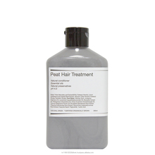 Organic natural peat hair treatment with essential oil