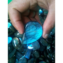 High AAA Quality Loose Natural Semi Precious Faceted Labradorite loose Gemstone