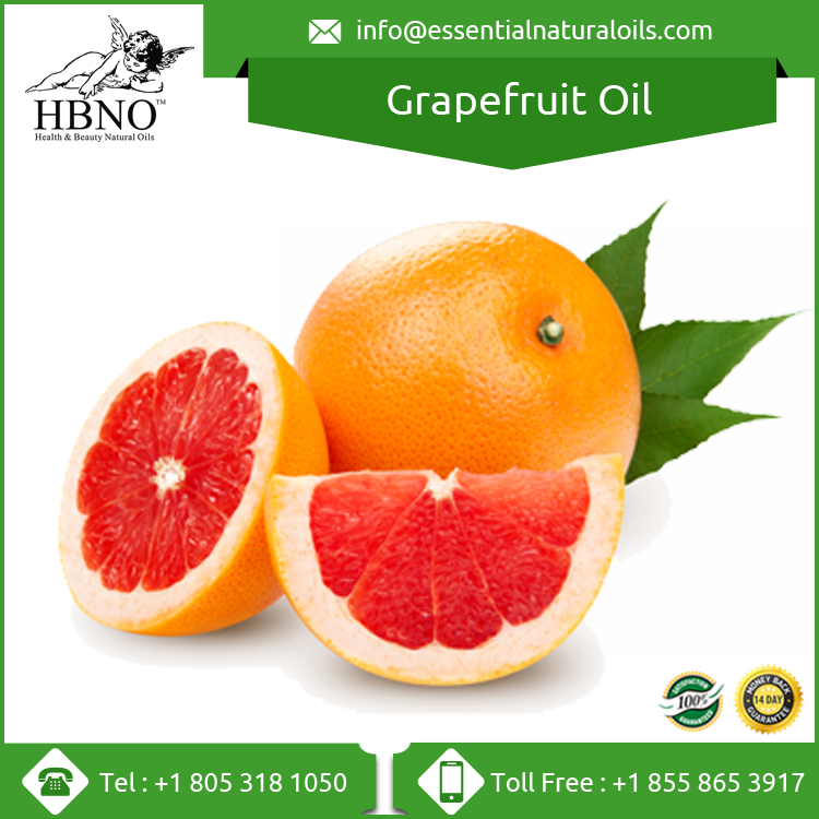 100% Natural Organic Pure White Grapefruit Oil