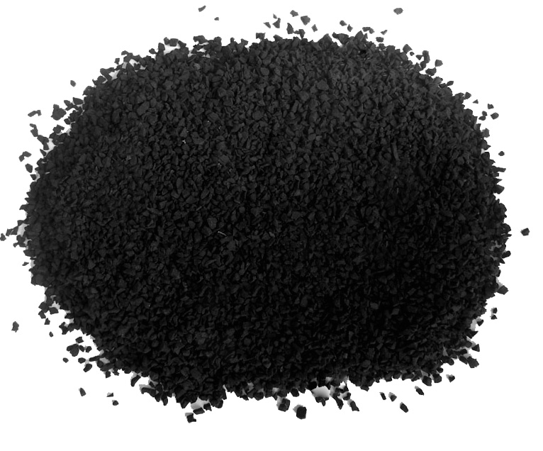Rubber recycled granules