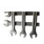 Combination Spanner Wrench 8mm Cold Stamp Set