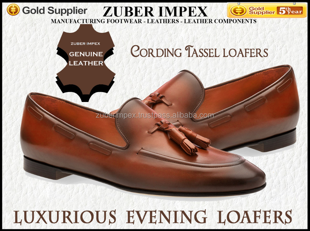 Luxurious Evening Loafers - Shoes for men - New - Top supplier - Your Own Brand name - High Quality - Lowest MOQ - Lowest price