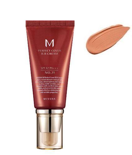 [Missha] M Perfect Covering BB Cream SPF42 PA+++_ Korean cosmetics