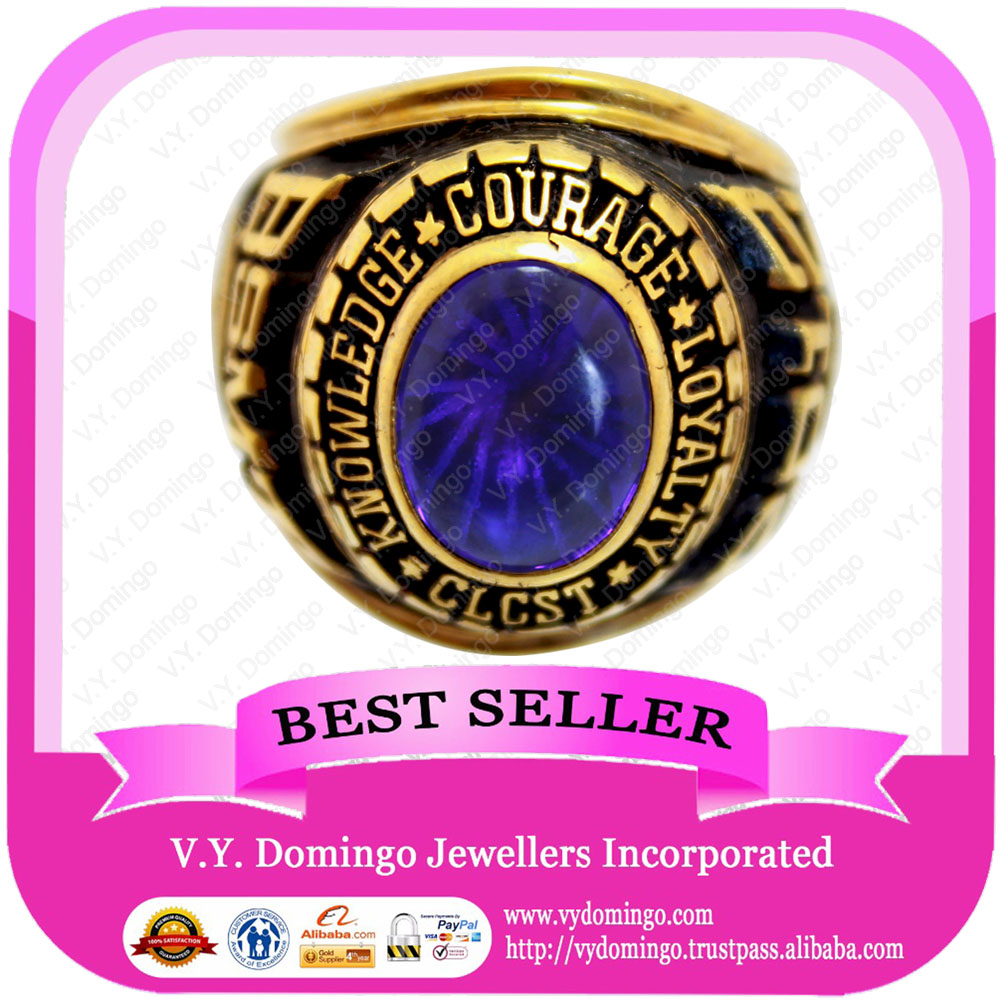 2012 Customized BSMT rings and Amethyst Class Ring