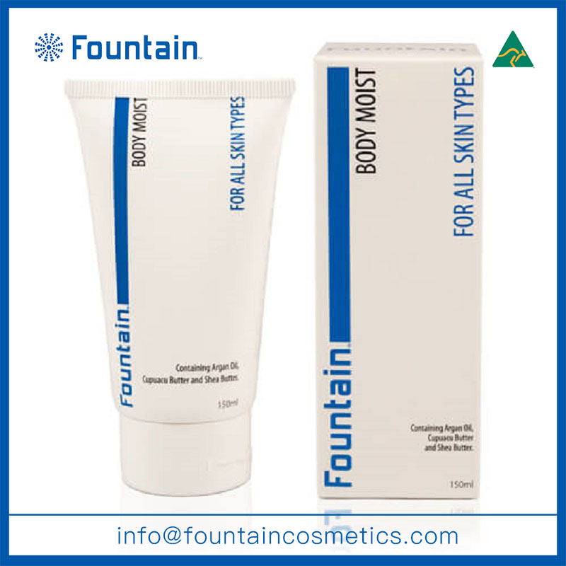 Body moisturizer organic whitening body