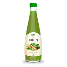 330ml Glasbotle Vegetable juice. Spinach - Carrot - Celery