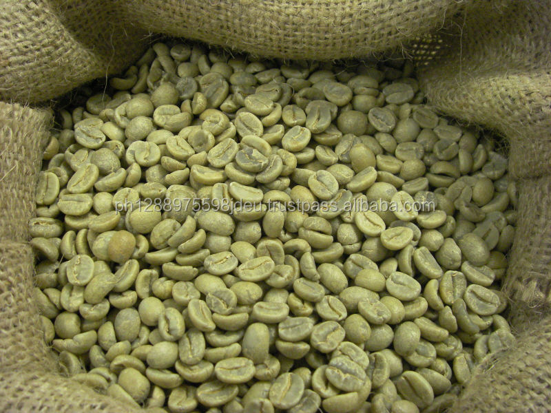 Arabica GREEN coffe beans and slim deliciously coffee or arabica green coffee
