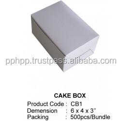 cake boxes packing supplier in penang Malaysia