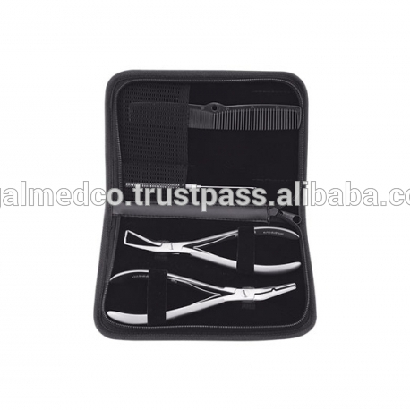 wholesale price of hair extension plier/ micro ring / metal thread tool/ needle hook