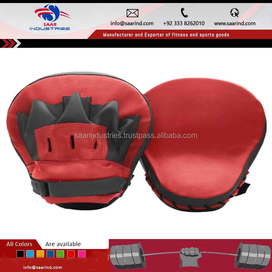 Low Price Hot Selling kick shield strike pad punch bag focus boxing mma thai pad curved / Boxing Gear and Apparels