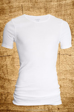 Bangladesh Garments Stocklot/shipment Cancel Styles Men's s/s White T Shirt