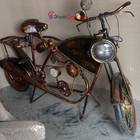 Vintage Retro Restoration 2 Wheeler Bike Automobile Themed Furniture