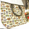 Thailand shopping cotton fabric shoulder bag hand made