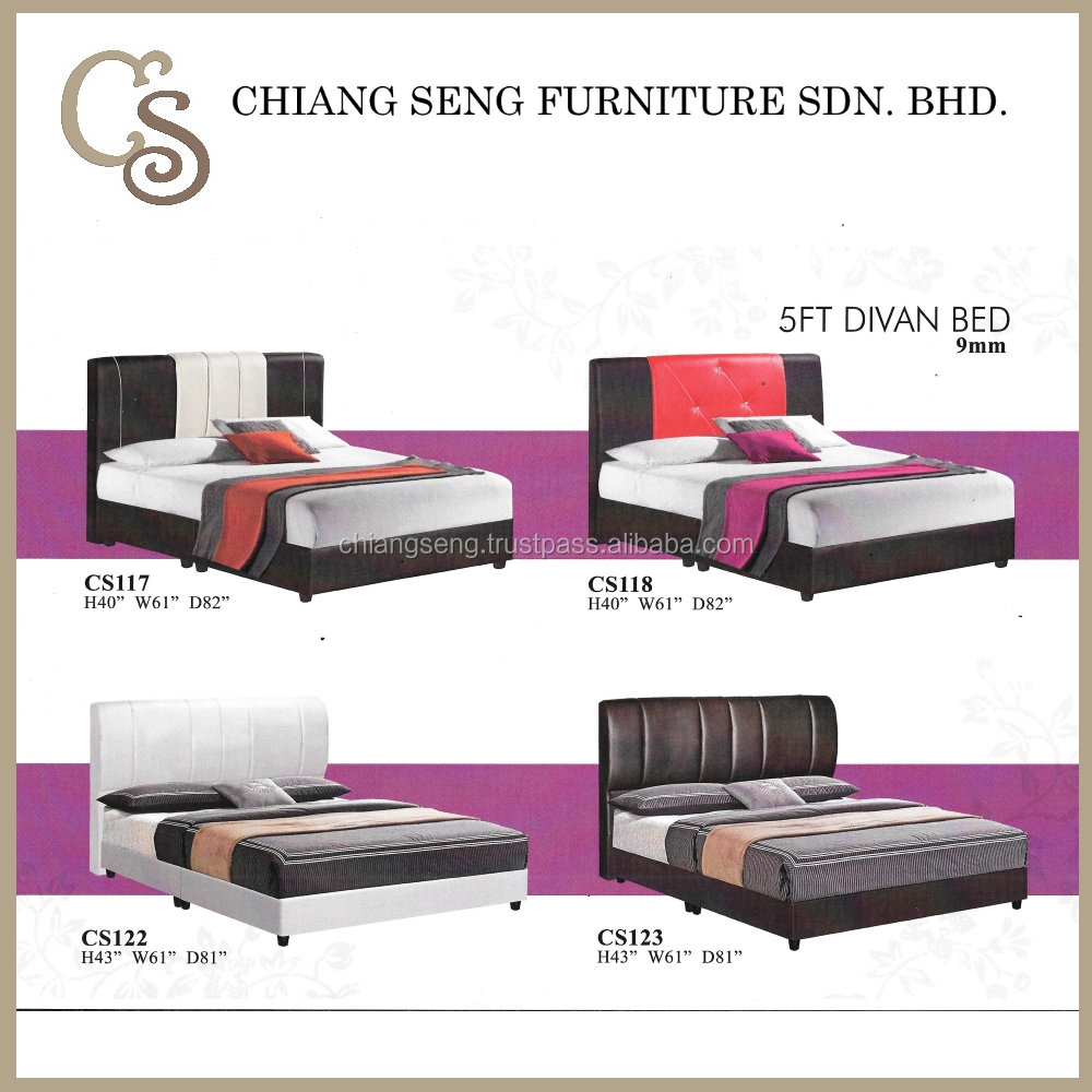 CS117 Single Foam Mattresses 5FT Divan Bed Online for Sale Cheap