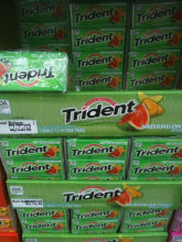Trident Mint Orbit Chewing Gum