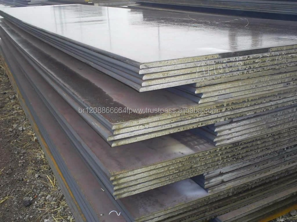 Steel Plate Hot Rolled Steel Plate / Hot Dipped Galvanized Steel