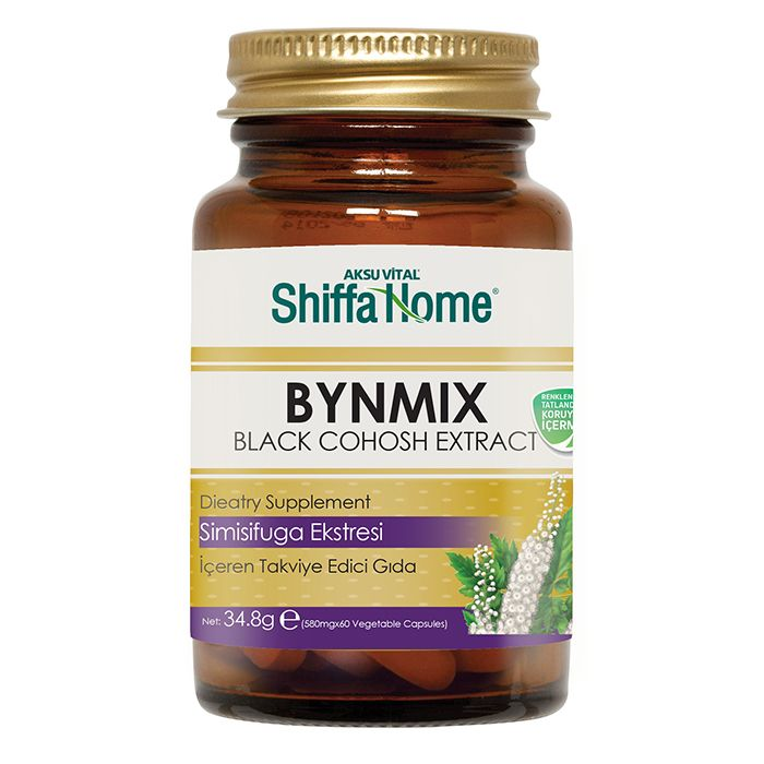 Black Cohosh Extract Capsule BYNMIX for Women Period Care Menstrual Pain Relief Best Polyphenol Supplement Capsula