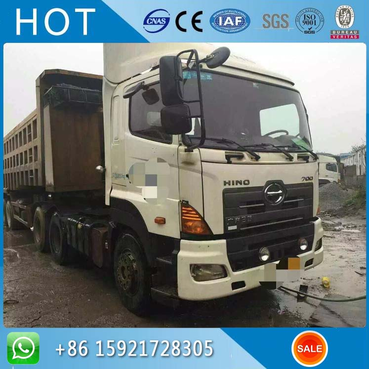 P11C-UB Hydraulic Cylinder Japan Hino 700 Used Dump Truck For Sale Cheap Price