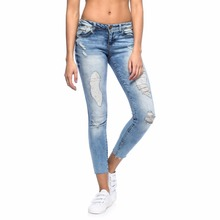 ZegaApparel custom made fit and smart distressed jeans for woman