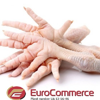 Frozen chicken feet A/B/C grade from Ukraine
