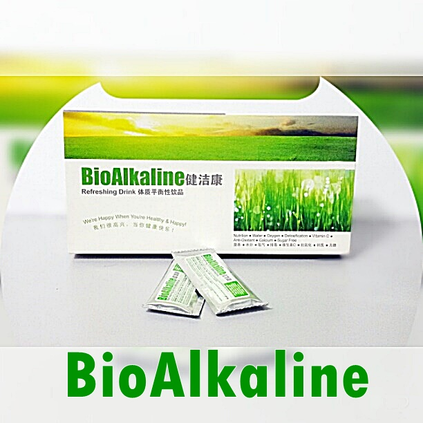 Healthy alkaline water concentrate powdern form