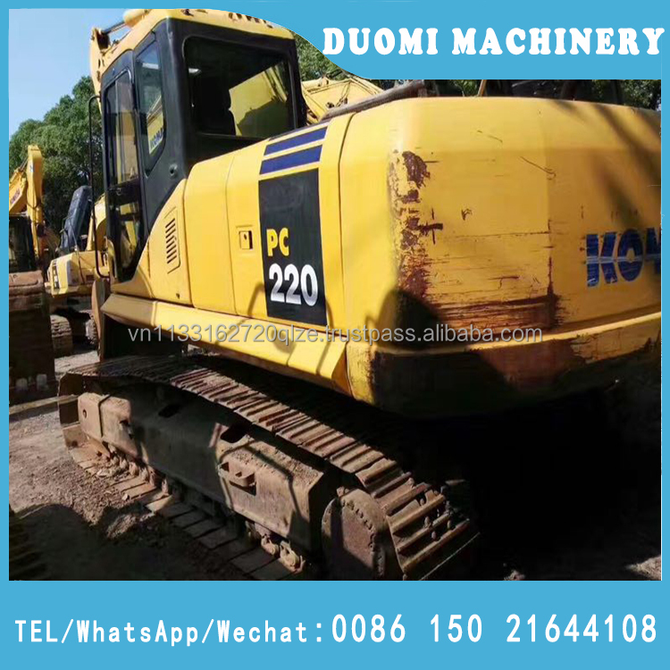 Used japan komatsu PC220 excavator/crawler used excavator hydraulic 22ton PC220-7 for sale