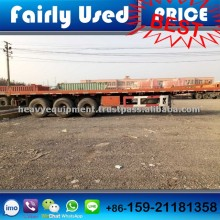 Used 3 Axles 40 Feet Container Low Bed