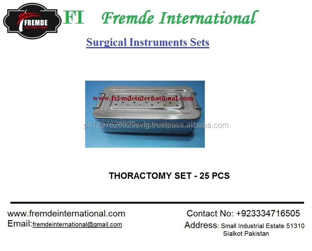 HEMORRHOIDECTOMY SURGER INSTRUMENTS SET OF 20 PIECES