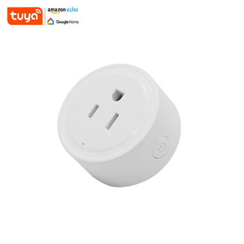 Alexa Control 220v Timing Switches Mini Smart Wifi Plug Socket