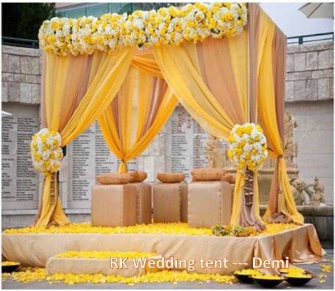 Hot sale pipe and drape for wedding backdrop stand for party event
