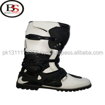 new 2018 Motorcycle Boots Brown Black Leather Motorbike Mens All Sizes