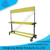customized 2 tiers car tire display rack with showroom