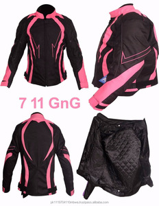 Ladies & Women Motorbike Motorcycle Armoured Textile Cordura Waterproof Jacket