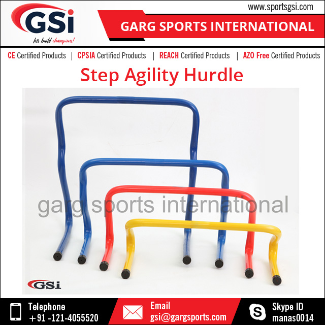 Strong PVC Tube Training Step Agility Hurdle