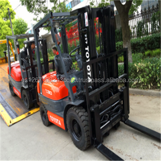 On site inspection provided Cheap Used 3 ton Toyota FD30 Forklift