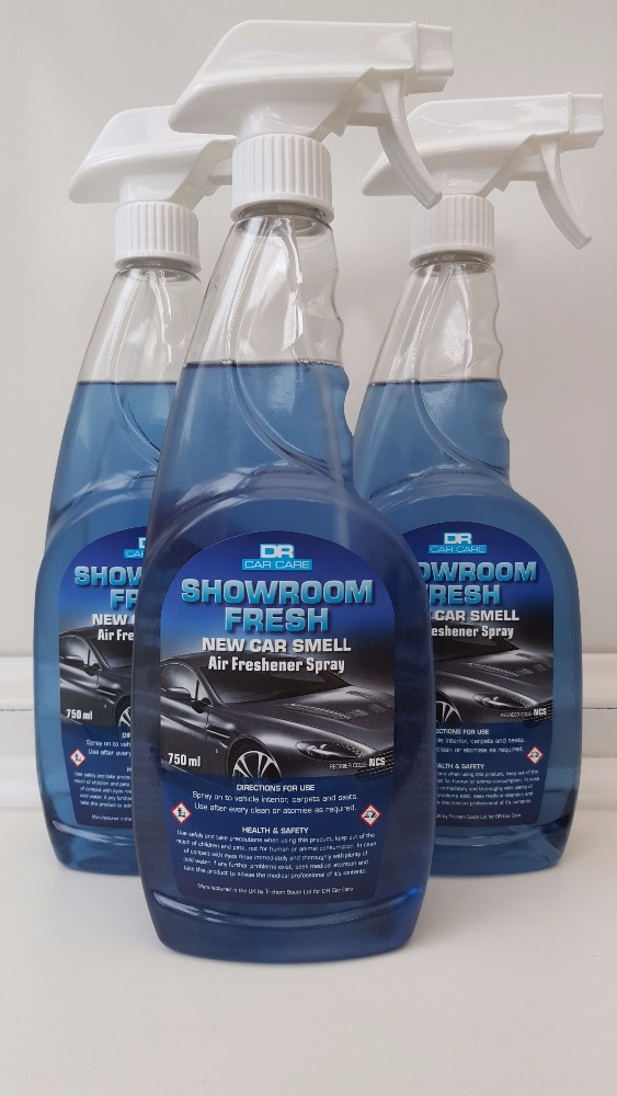 New Car Smell- Showroom Fresh - Deodorizer 1x750ml