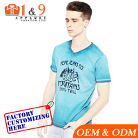 Factory Price Custom t shirt men OEM design