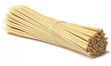 2015 dry / natural color bamboo skewers/ sticks